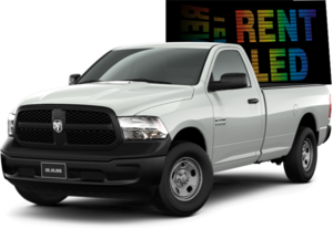 DODGE RAM 1500 with Double Side LED Display